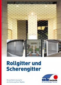 AK-Technik Rollgitter_Scherengitter Titel