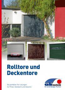 AK-Technik Rolltore_Deckentore 6-Seiter Titel