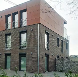 Fassade modern Vorbauelemente